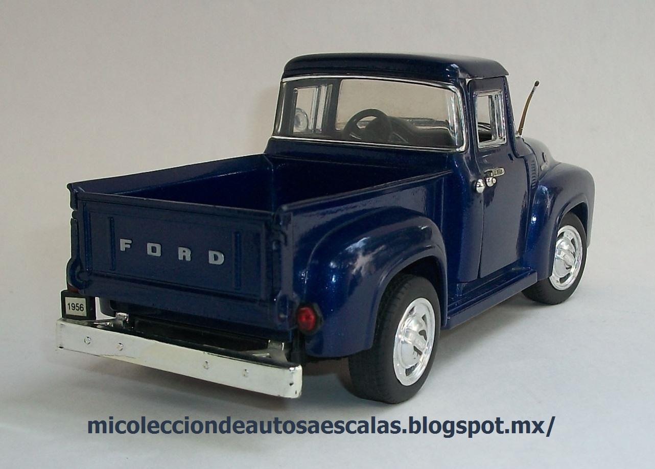 Mi Coleccin De Autos A Escala 1956 Ford F 100 Pick Up 1951 1953 Chevrolet Pickup Jada