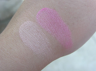 Swatch of Body Shop Blush