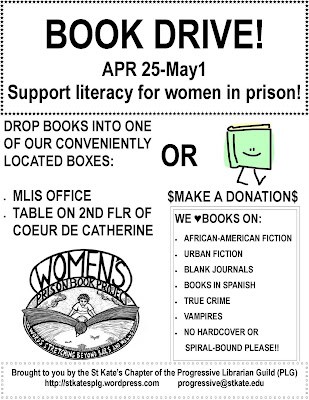 PLG Book Drive