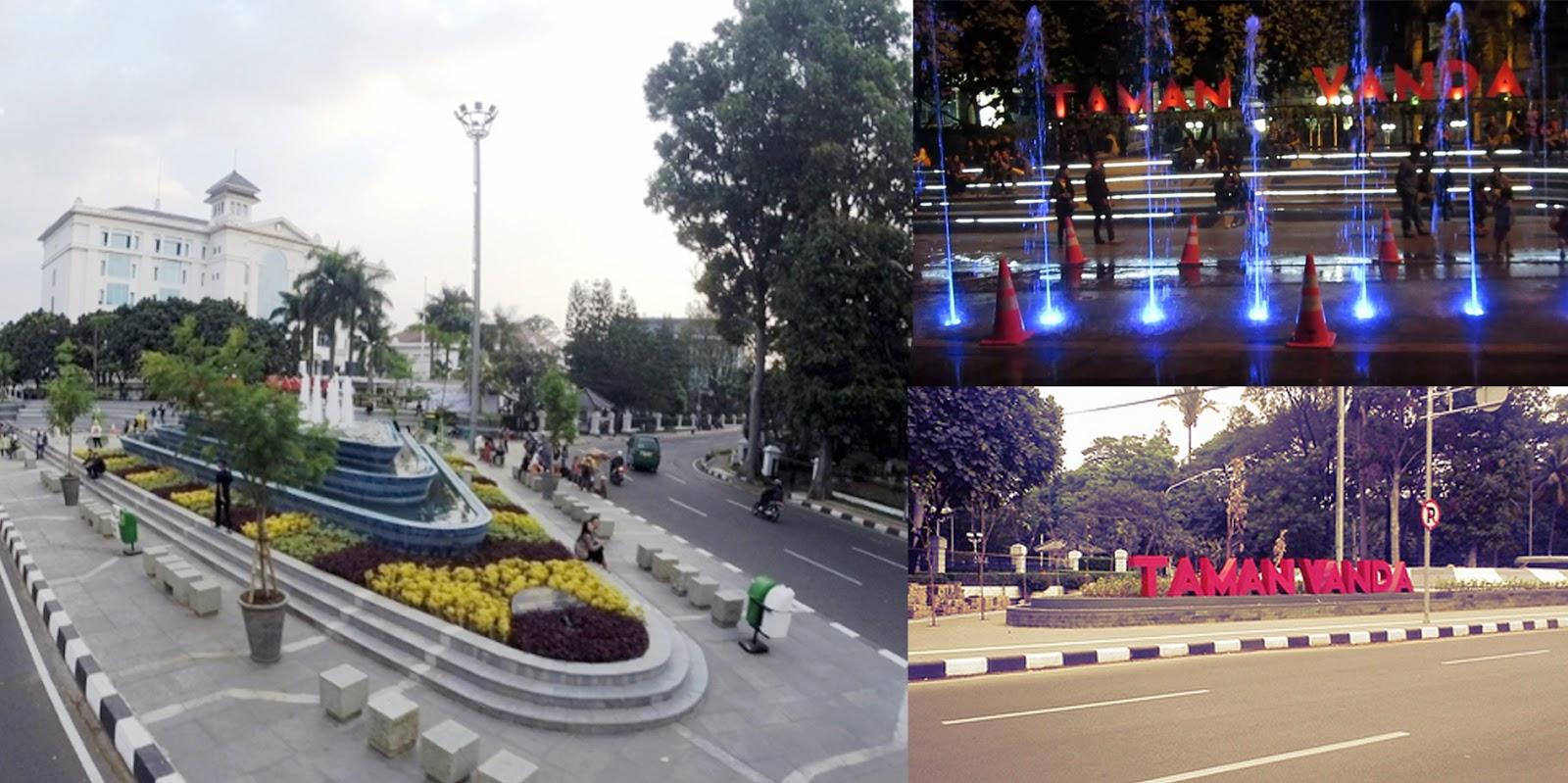 Lokasi Taman Vanda Bandung