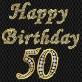 Frases Para Cumpleaños: Happy Birthday 50