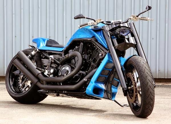 Modifikasi Motor Harley Davidson