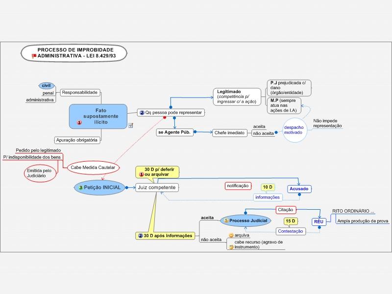 Processo de Improbidade Administrativa - L. 8429/92
