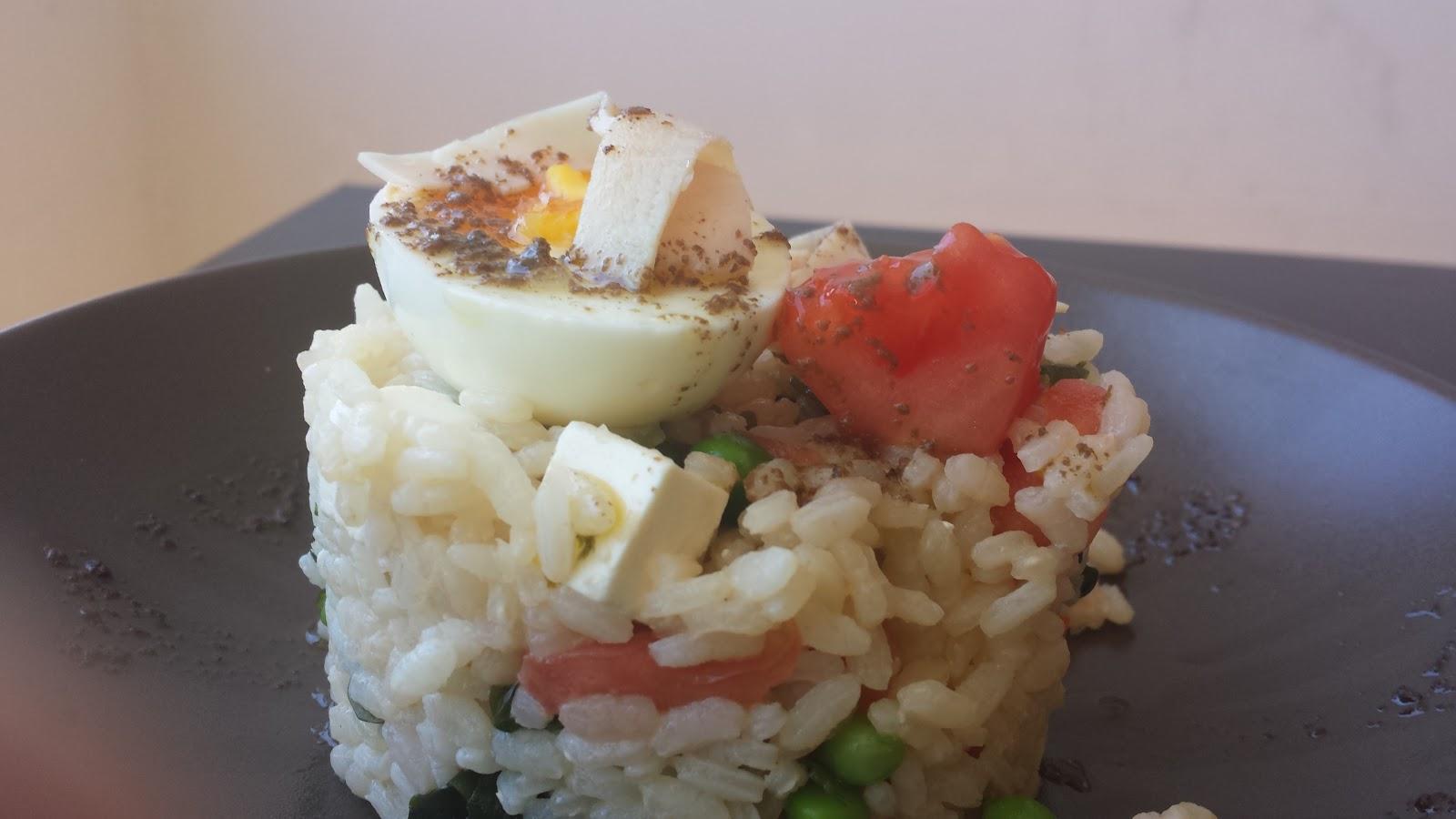Como preparar una ensalada de arroz con algas y guisantes for Como cocinar arroz