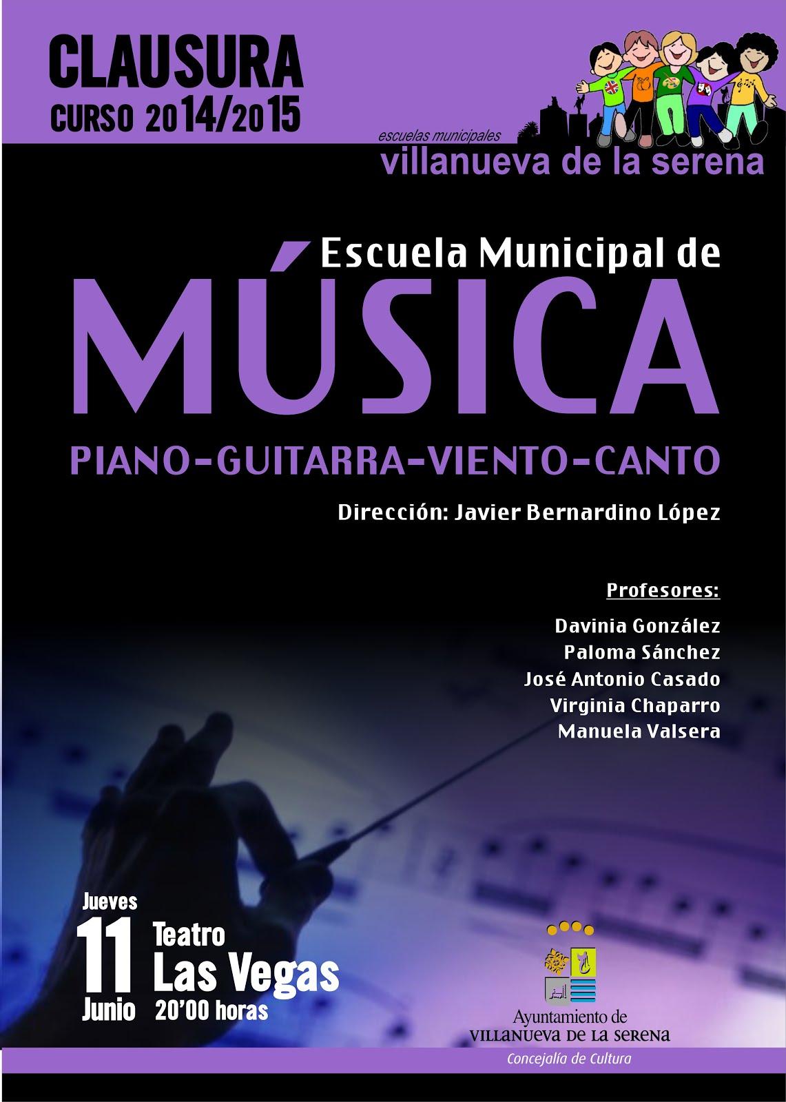 Clausura Escuela de Música Municipal