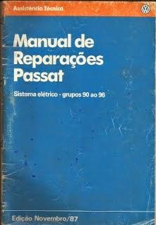 MANUAL DE REPARAÇÕES PASSAT (Sistema Elétrico grupo 90 ao 96)