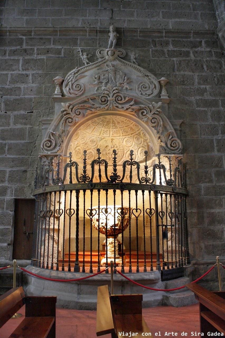 Baptisterio catedral Ávila