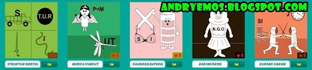 Kunci Jawaban Game Tebak Gambar Android Level 9