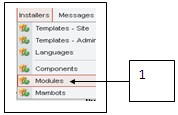 Cara Instal Modules Envotime di Joomla.