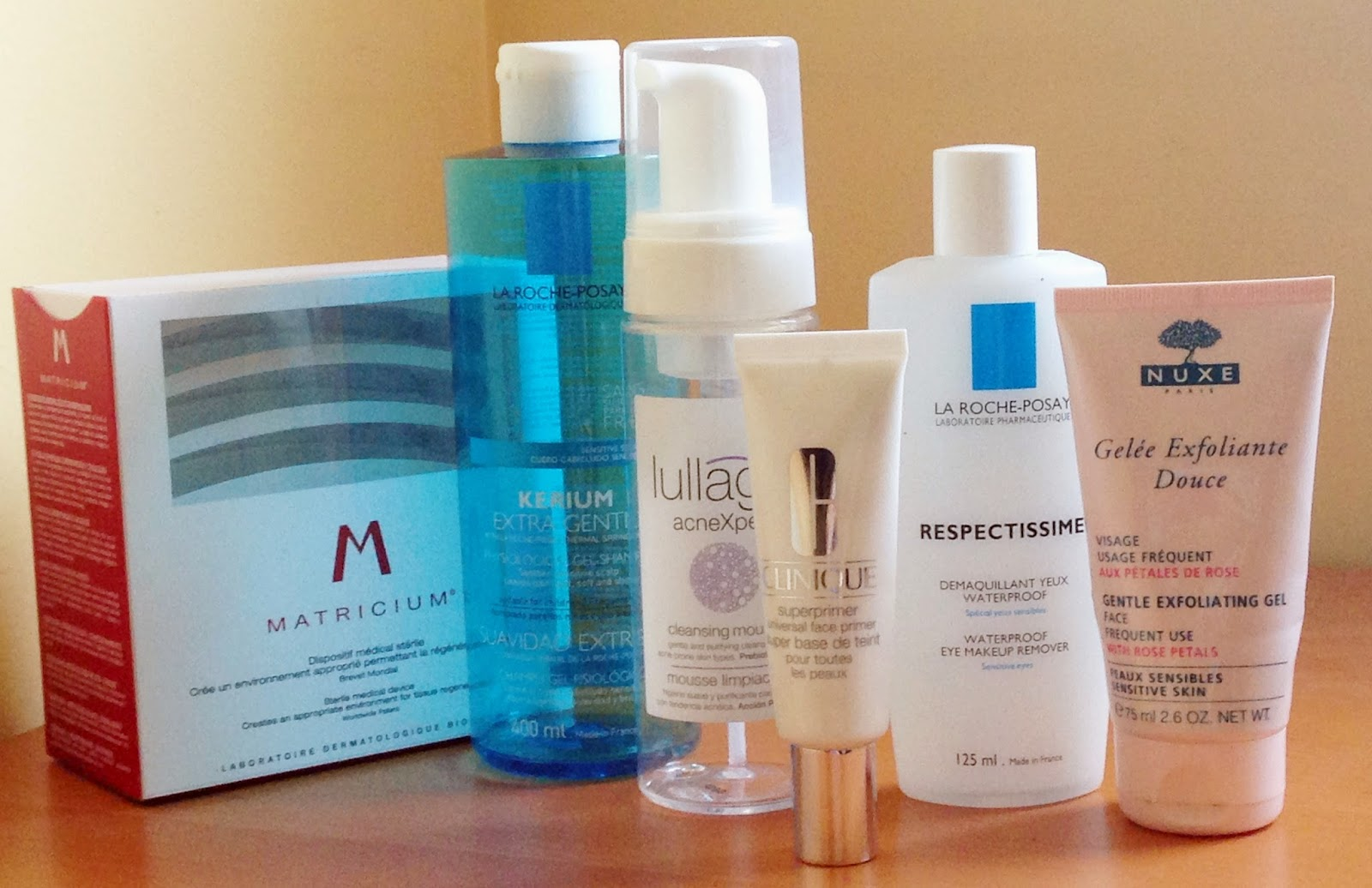 Matricium, Bioderma, Lullage, blog, La Roche Posay, Nuxe, Clinique, primer