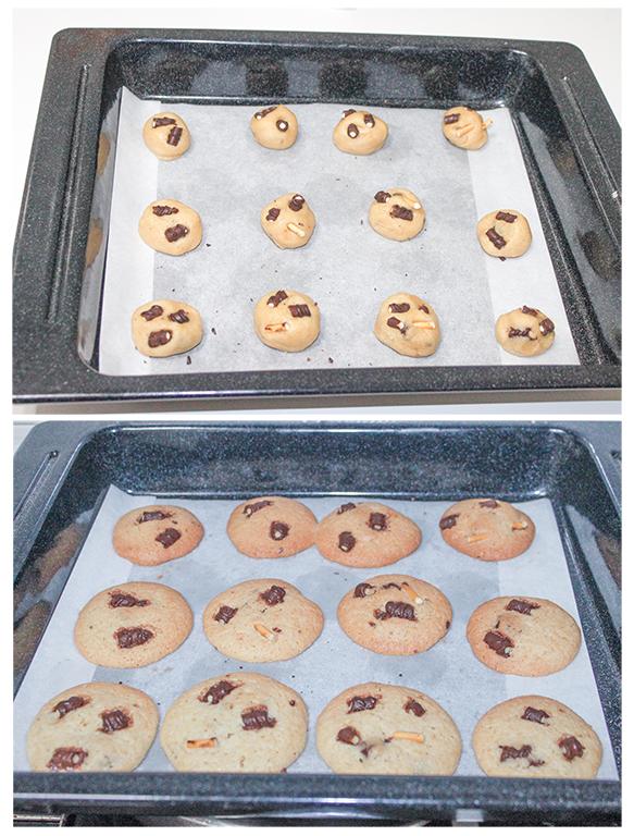 Cookies de Mikados