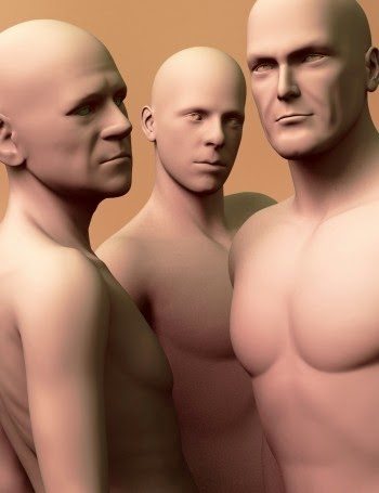 3d Models - ExtraOrdinary Men for Genesis 2 Male(s) Volume 1