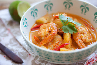 Pineapple Curry with Shrimp Recipe