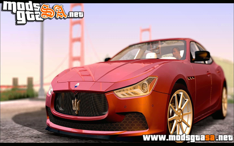 SA - Maserati Ghibli 2014