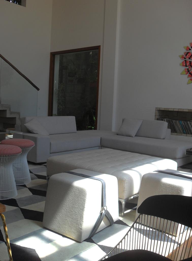 Sala De Estar Cinza E Branco ~  FAROFA  Arquitetura e design SALA DE ESTAR  CINZA, BRANCO E PRETO