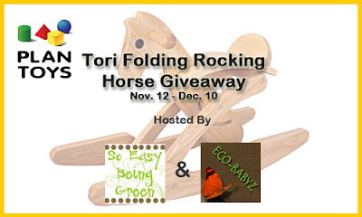 Plan Toys Tor Rocking Horse Giveaway Button