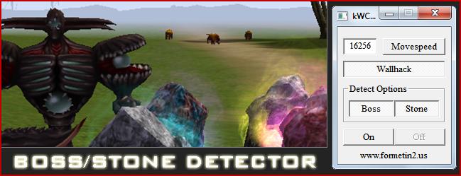 Metin2 PvP Boss/Stone Dedektör Hilesi