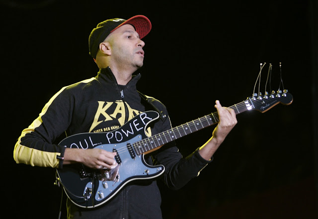 tom morello,electric guitar, audioslave