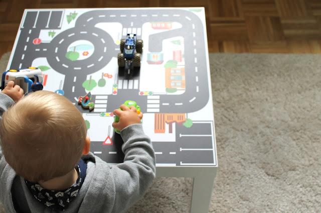 Limmaland Spieltisch Autos Jungenzimmer IKEA Hack