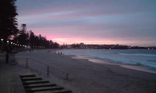Manly Beach Sunset