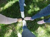 Mi pie y el de mis friends!!!