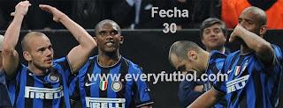 Resultados Fecha 30 Liga Italiana