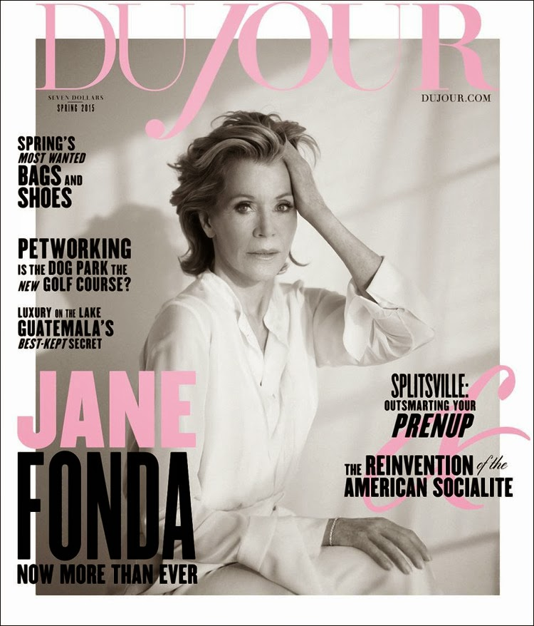 Actress @ Jane Fonda - DuJour Magazine, Spring 2015