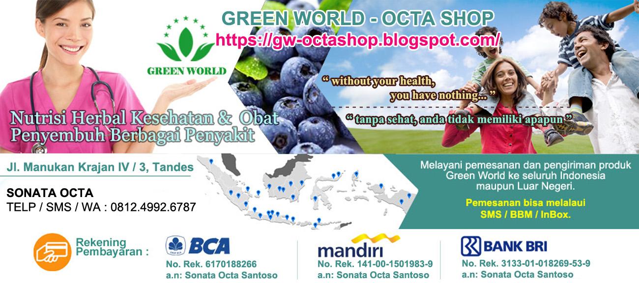 GREEN WORLD || 081249926787 || SONATA OCTA || AGEN RESMI GREEN WORLD