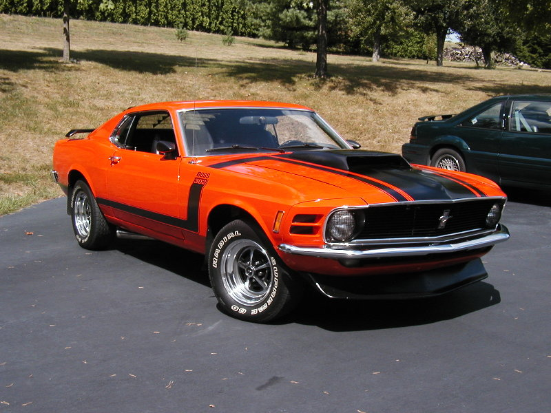 all about muscle car 1970 mustang 302 7 boss the legendary muscle cars. Black Bedroom Furniture Sets. Home Design Ideas