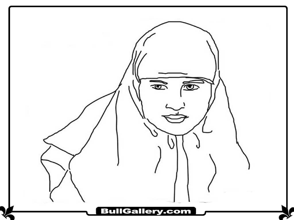ana muslim coloring pages - photo#15