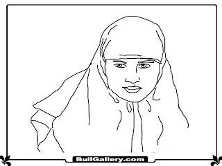 ana muslimah kids coloring sheet muslim girls kids coloring sheet