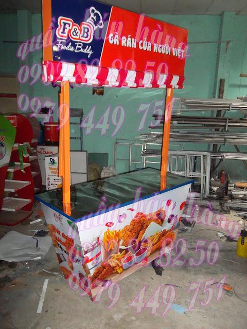 booth bán hàng di động KFC