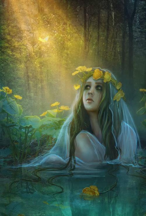 Lilia Osipova deviantart manipulação digital photoshop ilustrações fantasia surreal psicodelia Rusalka