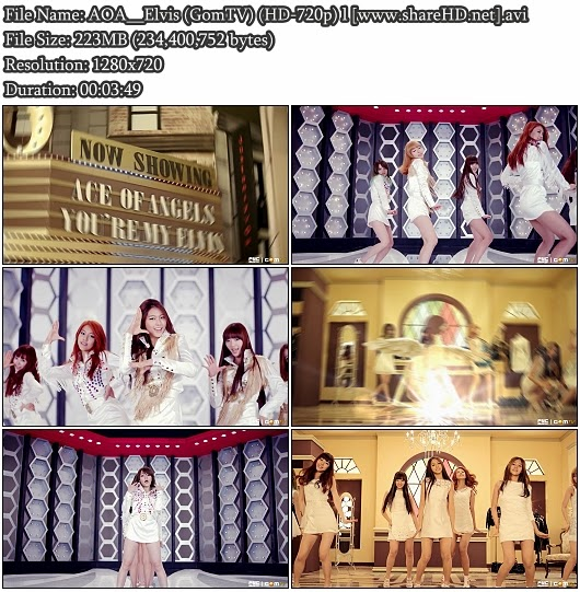 Download MV AOA - Elvis (GomTV HD 720p)