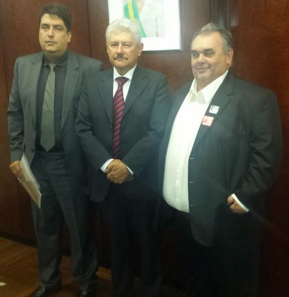 Prefeito Ivan Padilha já se encontra Brasília – DF para resolver o problema da Potiporã