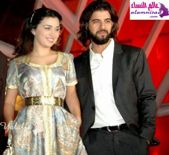 شاهد حفل زفاف الفنان عمر لطفي و الفنانة فرح الفاسي.. صور