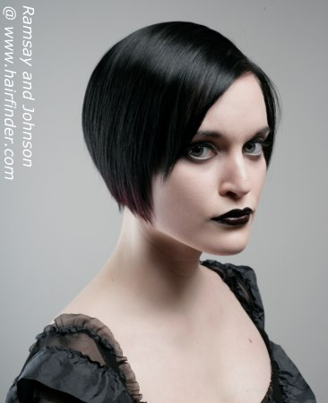 Hairstyles Gothic Miss 24
