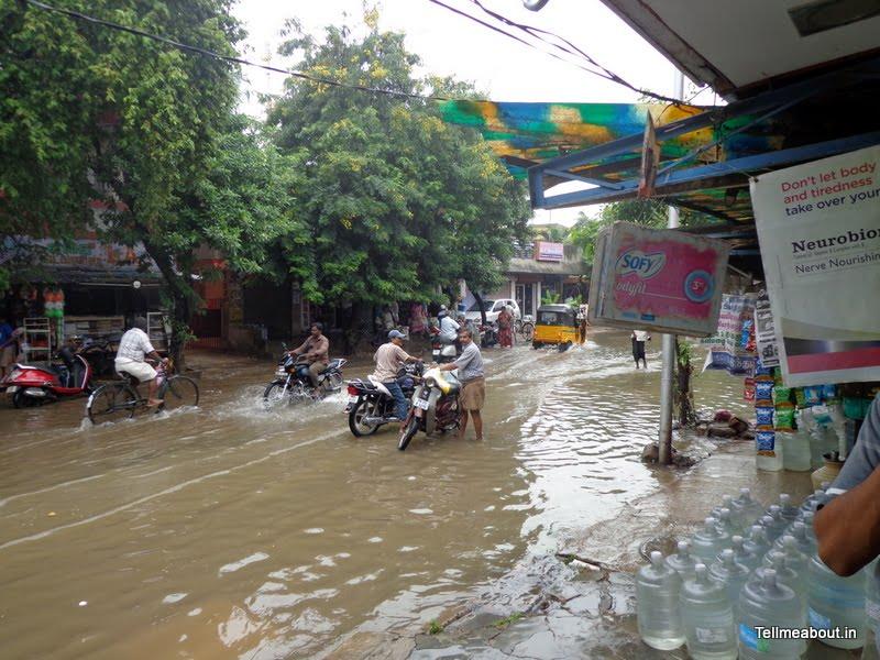Rain in Chennai
