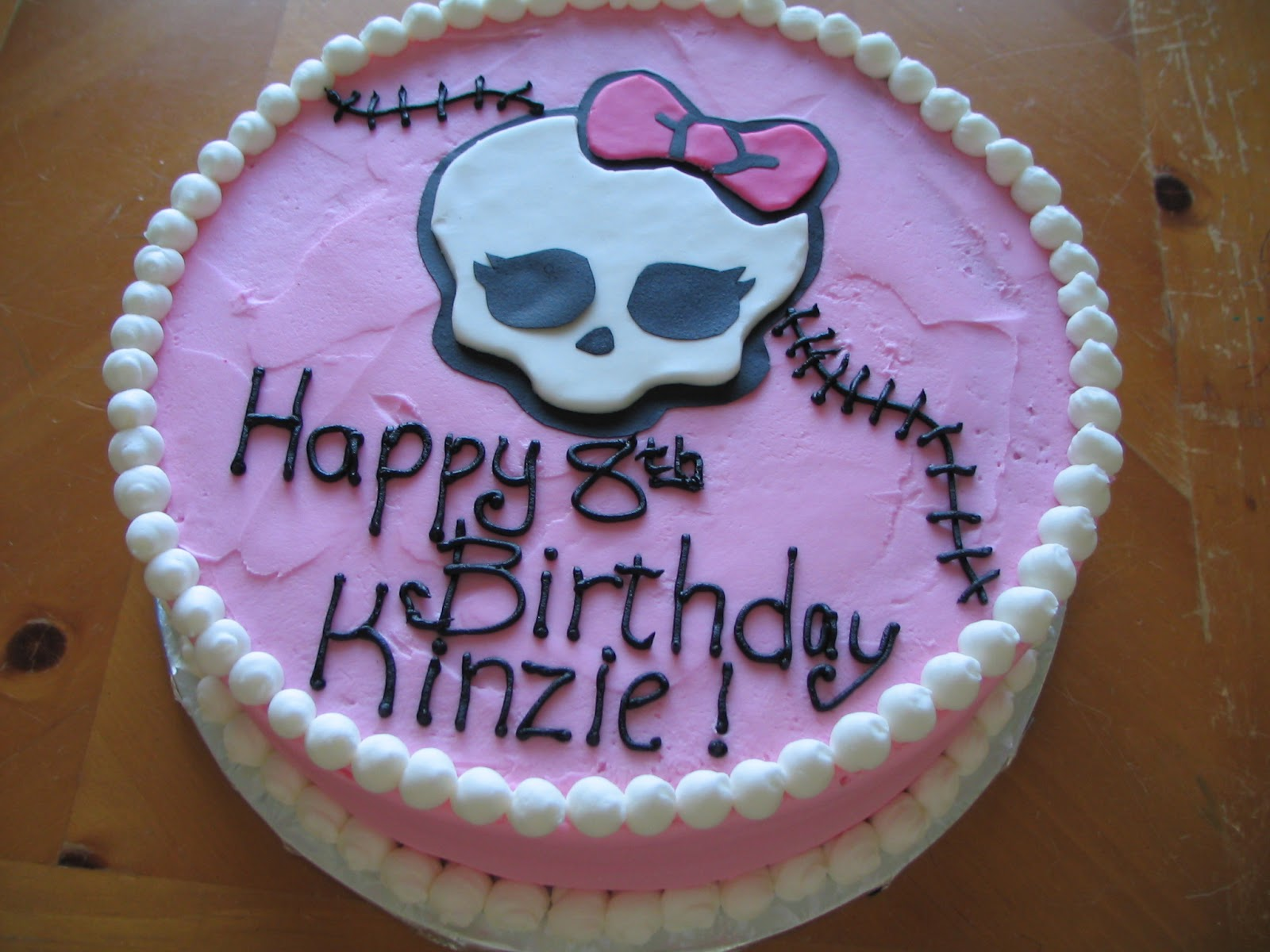 Piped Dreams Monster High Cake