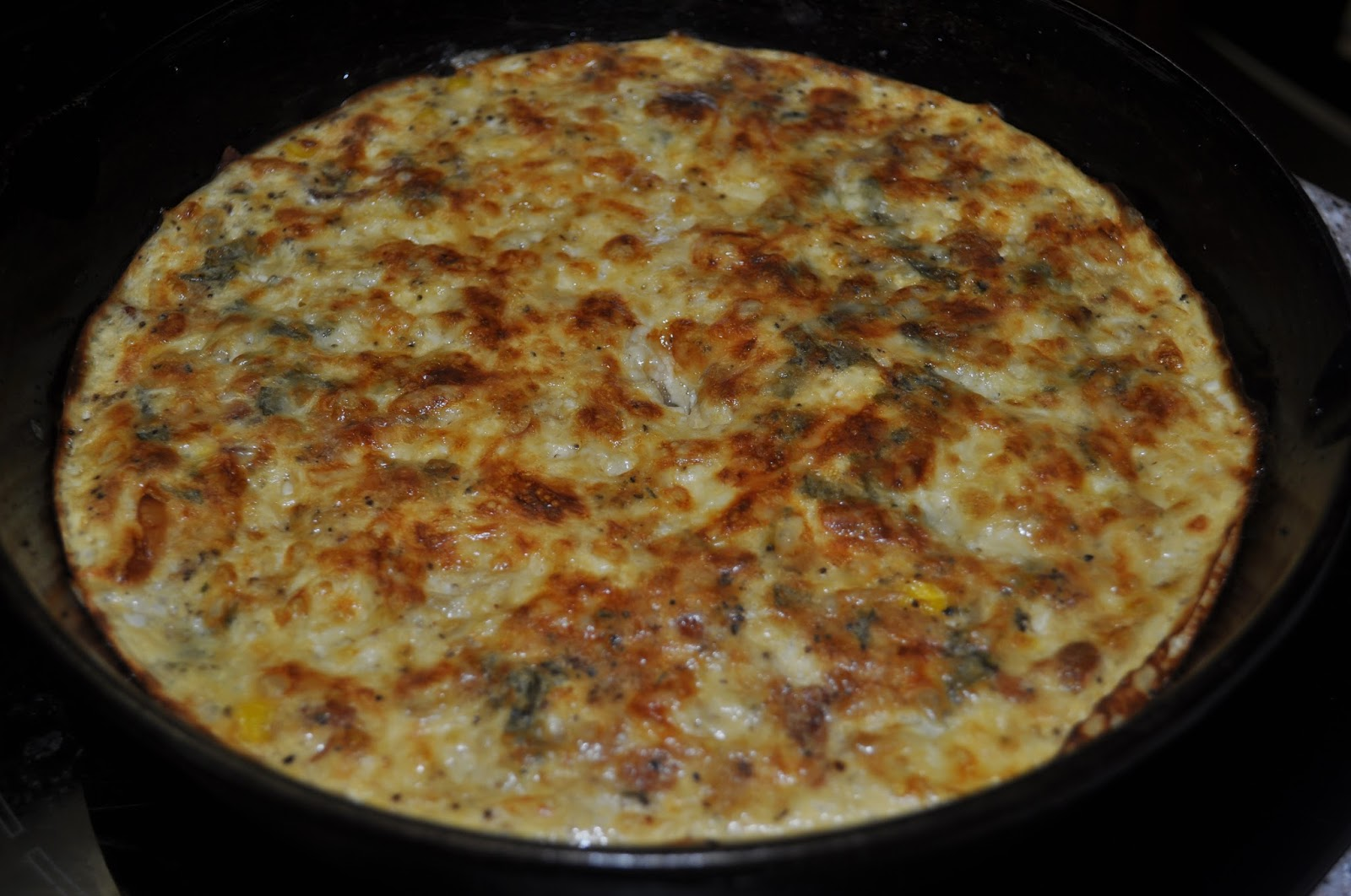 Beth's Favorite Recipes: Crustless Corn and Bacon Pie