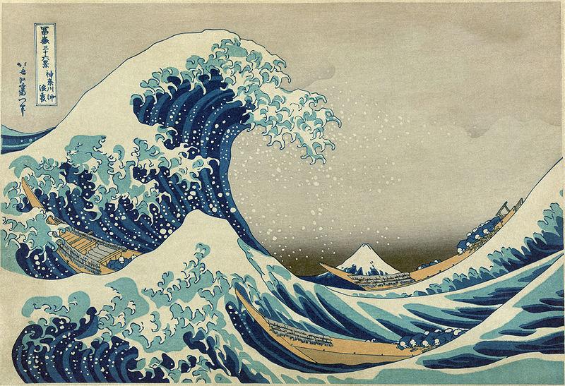 hokusai katsushika wave