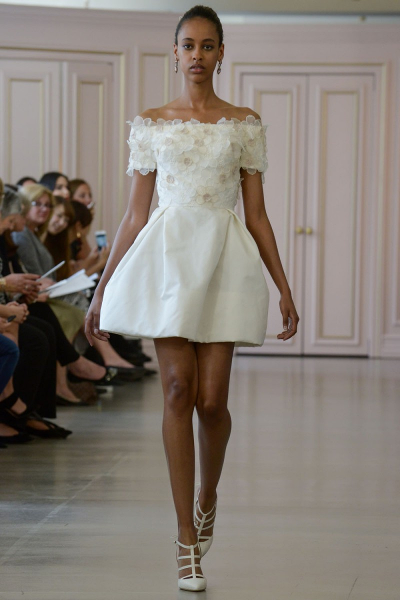 Above The Knee Length Wedding Gowns 2016 | WEDDING SHOES DESIGN