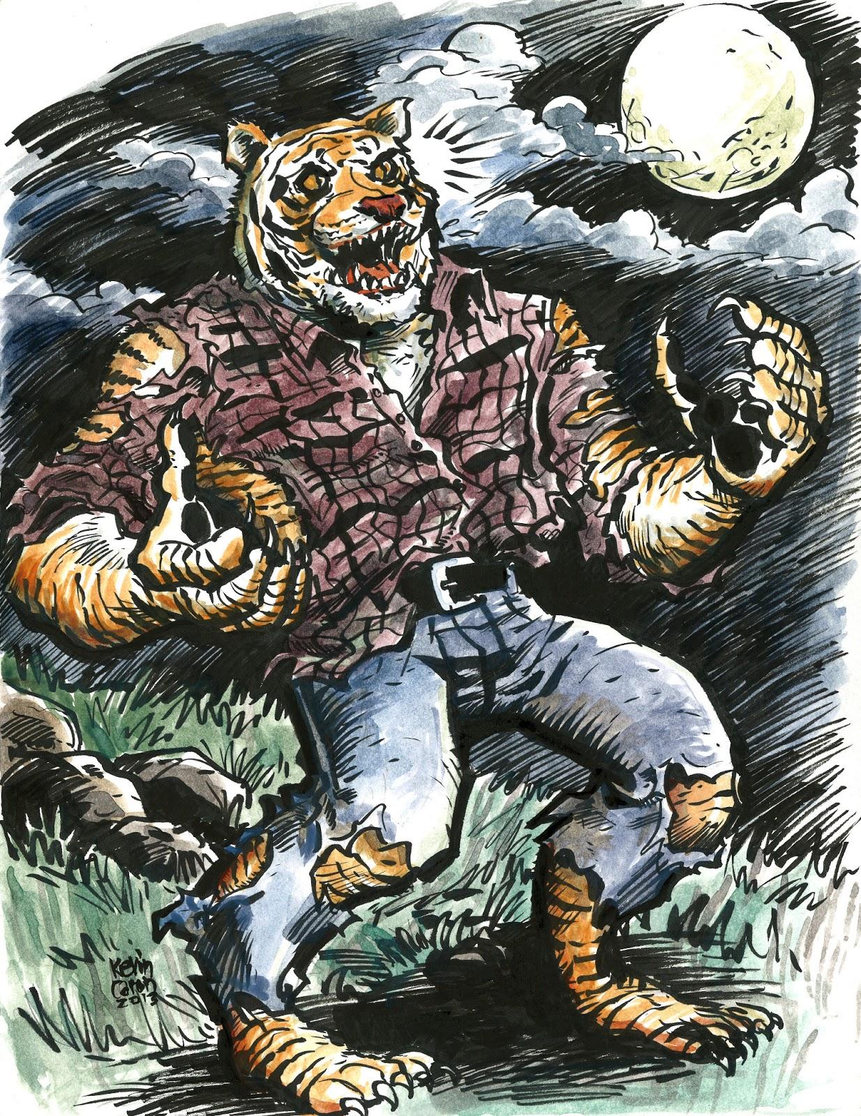 Werewolf vs weretiger - photo#16
