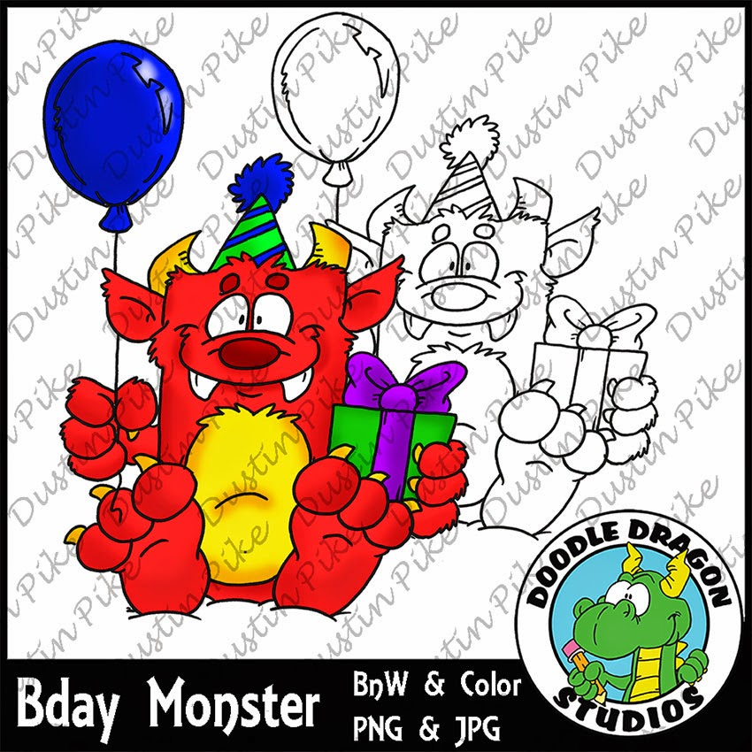 http://www.doodledragonstudios.com/digital-stamps/birthday-monster/prod_383.html
