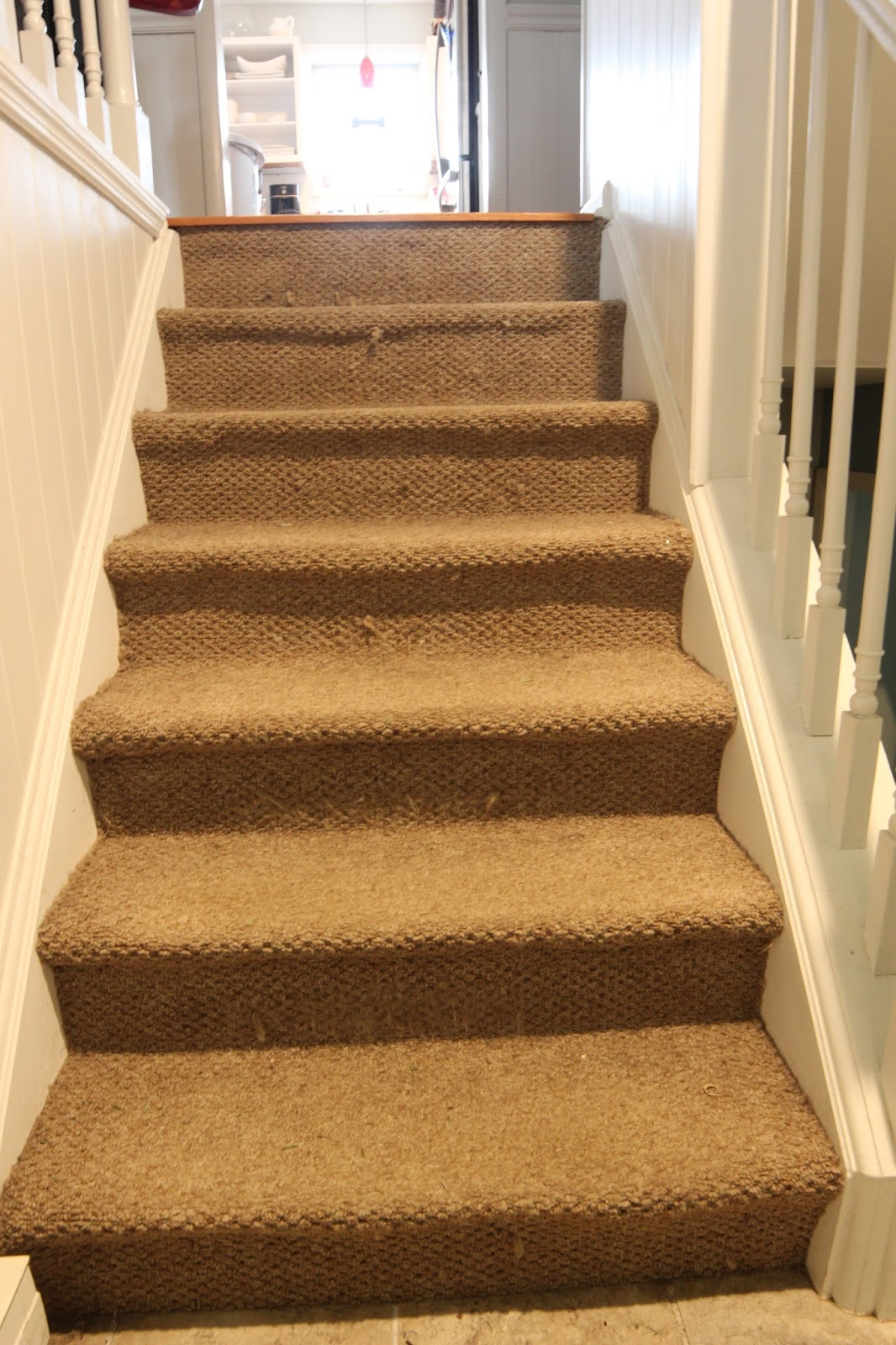 After Researching My Options I Landed On Replacing The Carpet With A Rug  Runner. I Liked This Option Better Than Bare Wood Since Stairs Can Be  Really Loud ...
