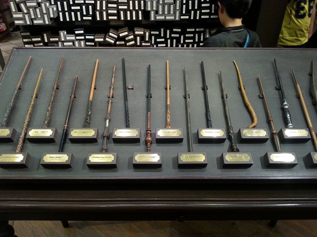 universal studios harry potter wands