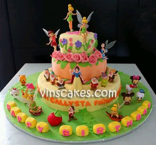Tinkerbell Cakes for Children Parties