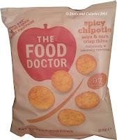 The FOOD Doctor Spicy Chipotle Soya & Corn Crisp Thins