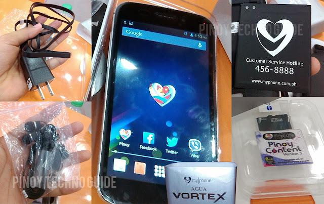 MyPhone Agua Vortex Unboxing
