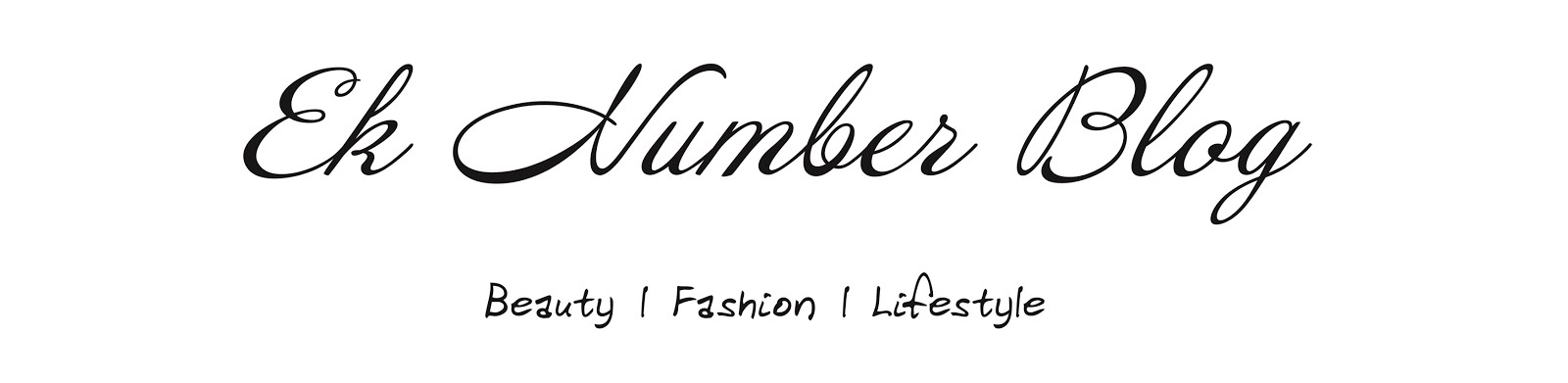 Ek Number Blog